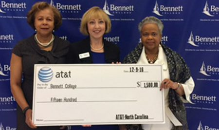 AT&T Donates to Bennett College