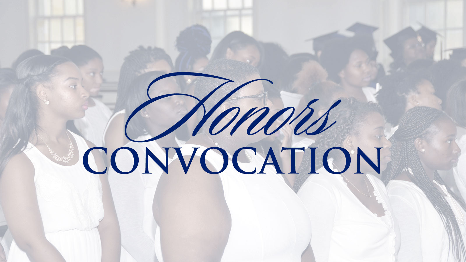 Spring 2017 Honors Convocation [Video]