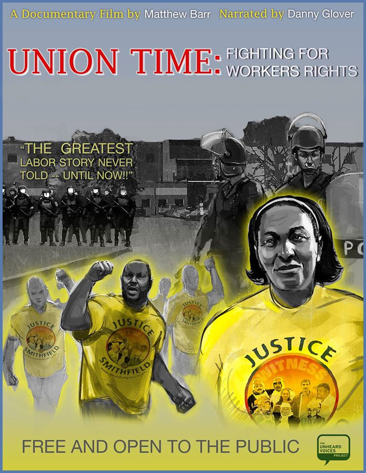 """""""Union Time: Fighting for Workers' Rights"""" documentary screening February 24 at 7PM"""