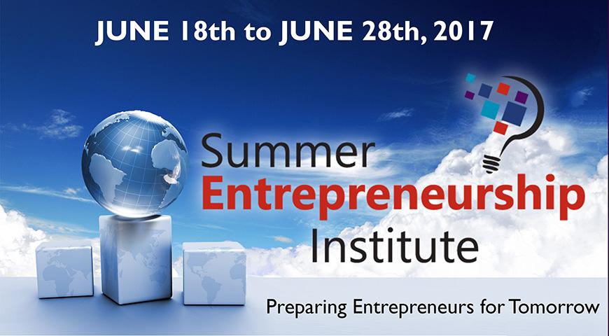 Apply for Summer Entrepreneurship Institute