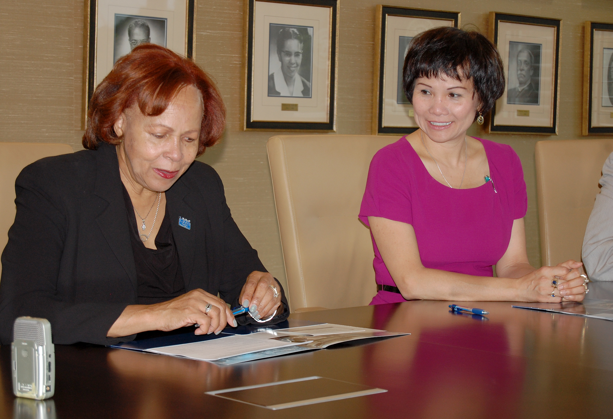 Bennett College Signs Mou With American Language Academy