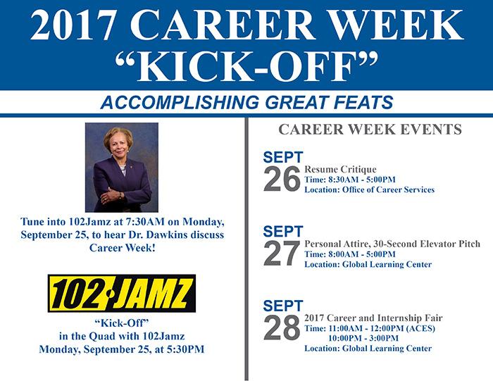 2017 career week kick off resume critique bennett college