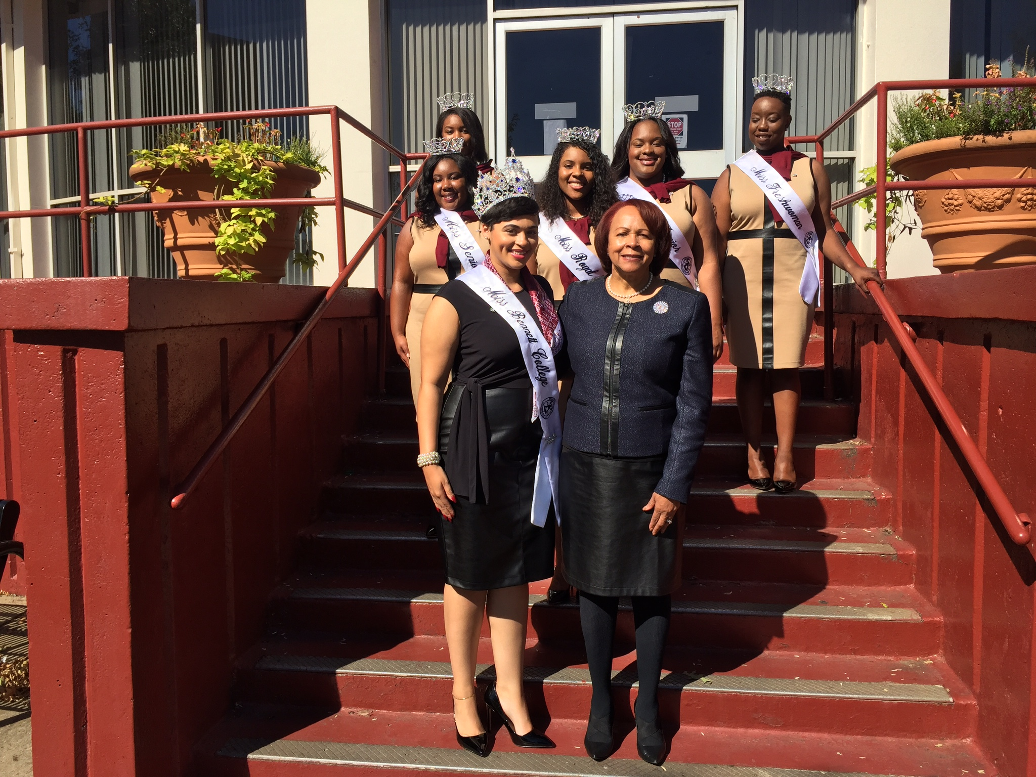 The Royal Court attends the Queen's Hour at Morehouse Homecoming