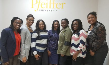 Psychology students visit Pfeiffer Graduate Program