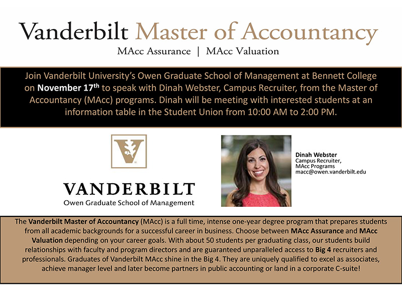 Vandy-MAcc-Flyer–Bennett-College