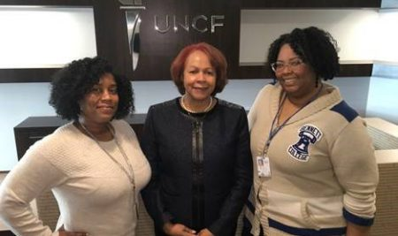 Dr. Dawkins serves as panelist at Yale, attends UNCF meeting where two alumnae were recognized