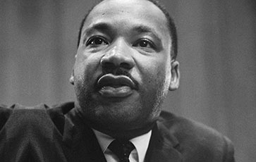 Martin Luther King, Jr. spoke at Bennett