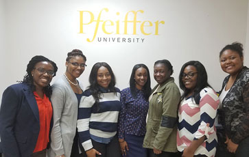MOU with Pfeiffer University