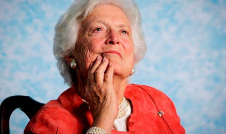 Barbara Bush: That time we spent Mother's Day with the first lady