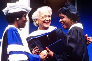 Barbara Bush – Bennett College 1