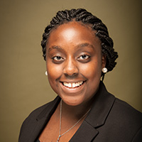 Bennett College senior Constance Staley interns in Graves Lab at Joint School of Nanoscience and Nanoengineering
