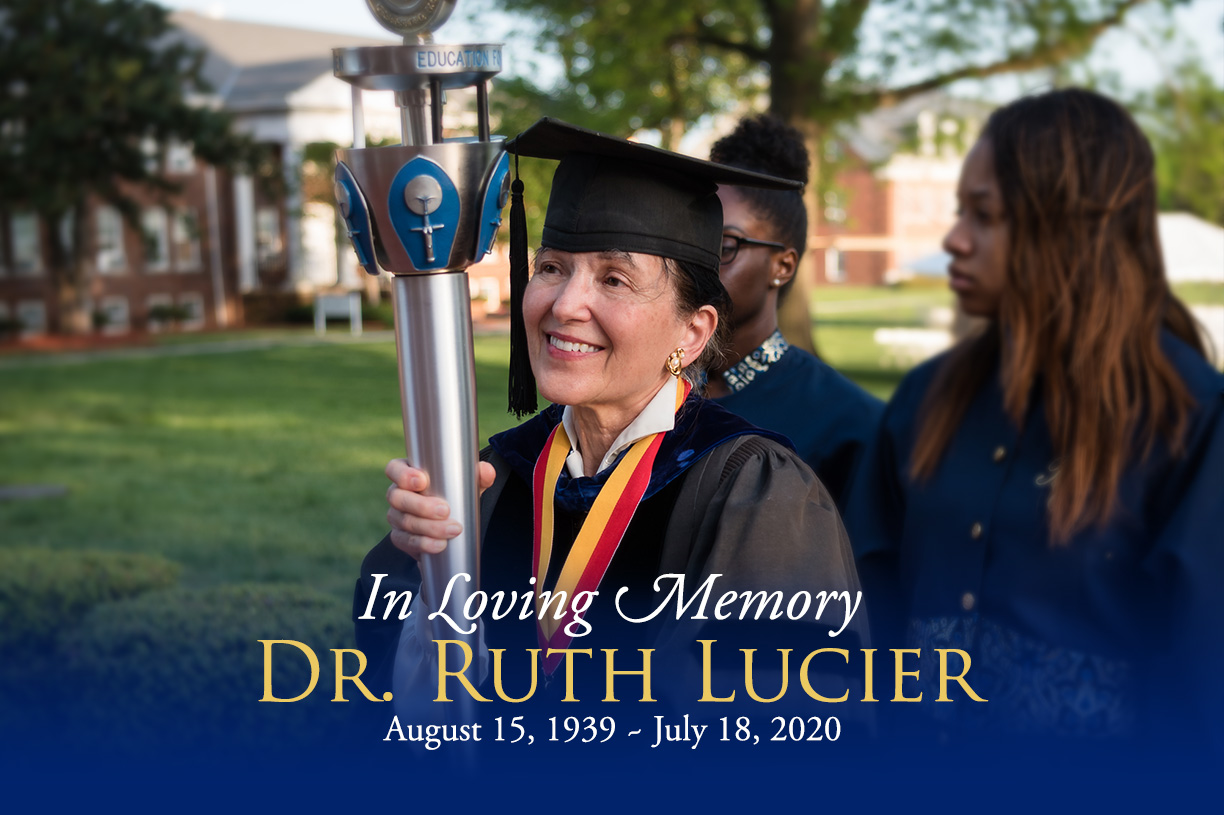 In Loving Memory of Dr. Ruth Lucier