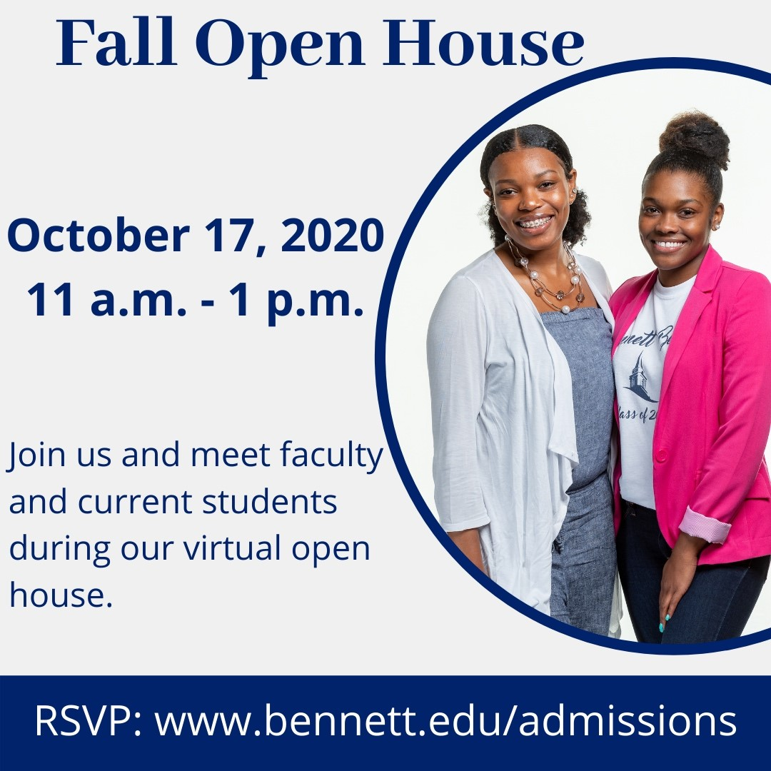 fall open house 2020