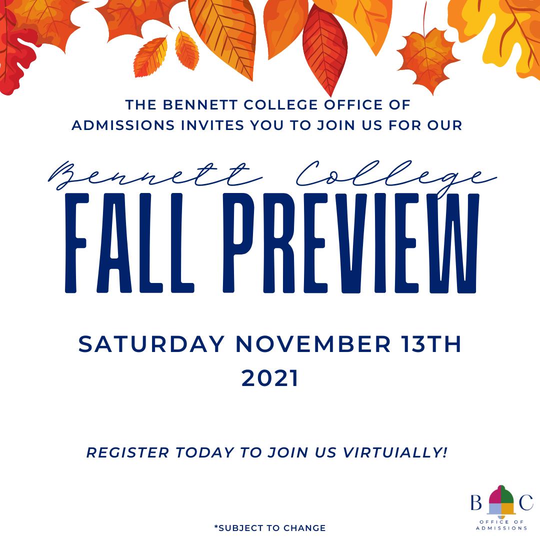 Fall Preview November